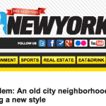 AMNewYork's two page spread on South Harlem – HarlemCondoLife featured