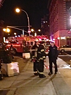 image Small Fire at Bad Horse Pizza in Harlem