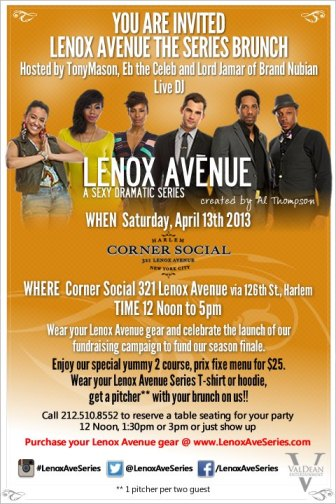 Today: Lenox Avenue Series Brunch At Corner Social