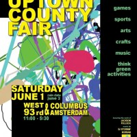 UPTOWN COUNTRY FAIR - BLOCK PARTY Saturday, June 1