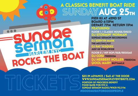 Sundae Sermon   A Classics Benefit Boat Ride This Sunday
