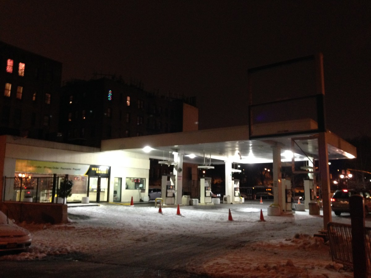 Update: Gas station on 110th and Central Park West to become apartments
