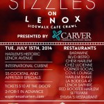 Summer Sizzles On Lenox – Sidewalk Cafe Crawl In Harlem