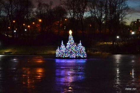 Harlem-Meer-Christmas-Tree-Floating-Central-Park-NYC