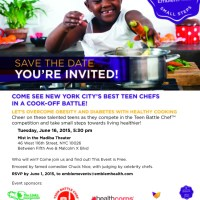 Teen Chefs Cook-Off to Fight Obesity