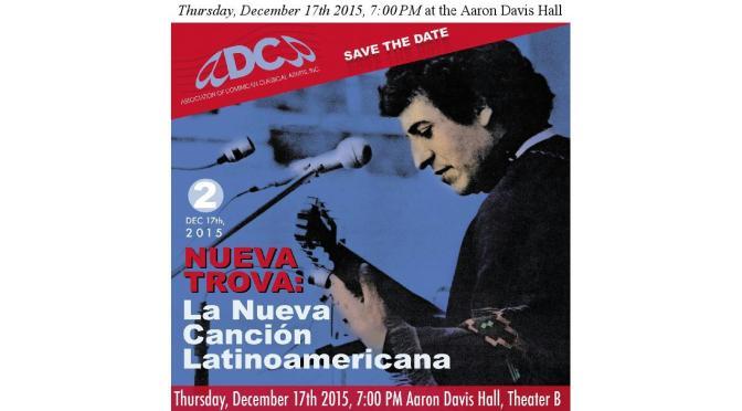 Nueva Trova Features Andre Veloz December 17th