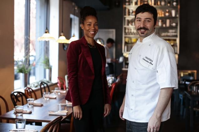 Yvette and Executive Chef Gustavo Lopez