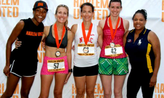 Harlem Wellness Challenge: Harlem Run One-Miler Success