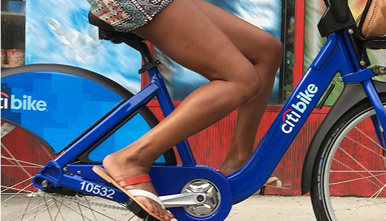citibikes in harlem