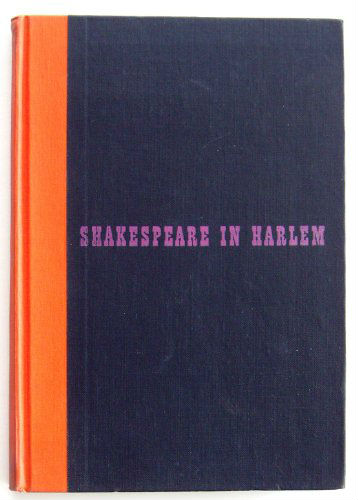 shakepseare in harlem signed by langston hughes