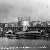 The West Harlem Pier, Harlem, New York  1850-1965