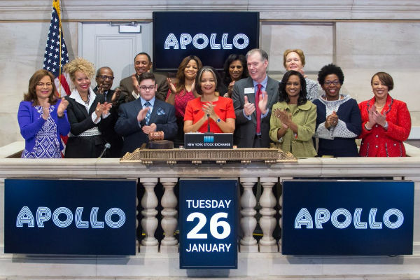 Apollo Rings NY Stock Exchange Opening Bell For Its 82nd Anniversary