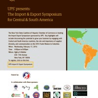 HW Pick: UPS Import & Export Symposium For Central And South America