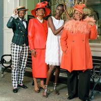 "Harlem's Evetta Petty In New Barney's NY ""Our Town"" Ad Campaign"