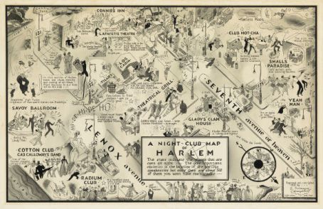 Lot-415-E-Simms-Campbell-Night-Club-Map-Harlem