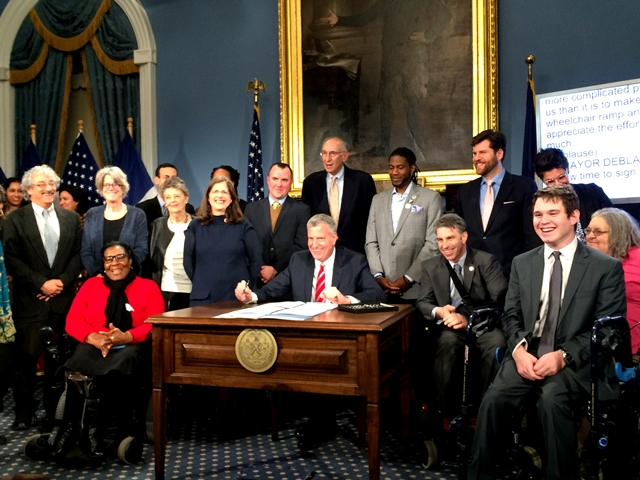 Rosenthal's Two Bills for People with Disabilities Signed Into Law