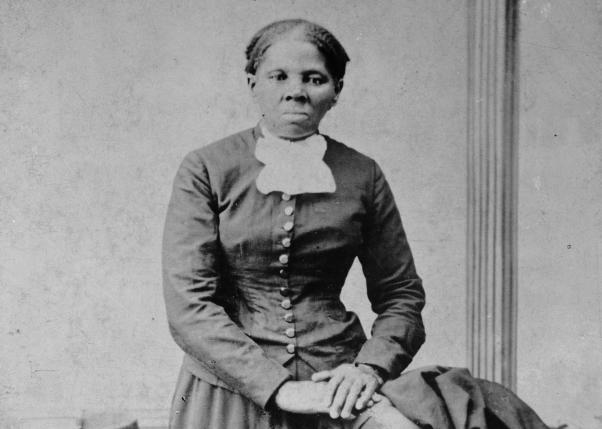 Harriet Tubman in a photo dated between 1860 -1875.    REUTERS/Courtesy Library of Congress