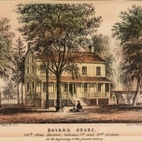 Bayard House, On 110th Street Harlem NY 1864