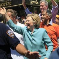 Sharpton, Cuomo, de Blasio And Clinton Makes Appearance In NYC Pride Parade