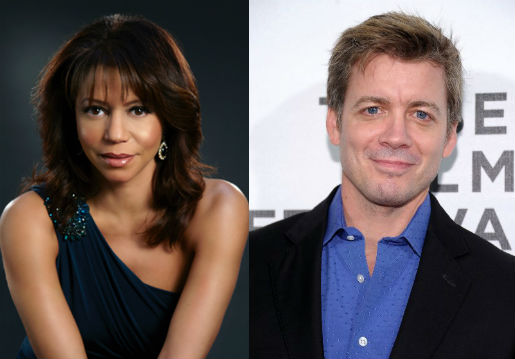 -Gloria Reuben and Chris Henry Coffey