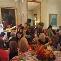 Up Close with CC Minton: First Lady Welcomes Young Chefs to the White House