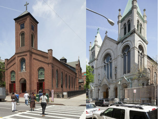 landmark churchs in harlem