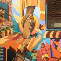 Youth Bridge Intergenerational Divide Through New Mural In Harlem