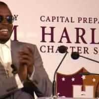Diddy Opens Doors To East Harlem Charter School