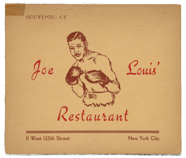 joe louis card i harlem1