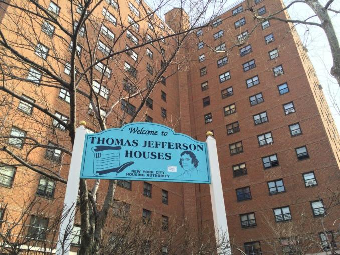thomasse jefferson houeses in harlem