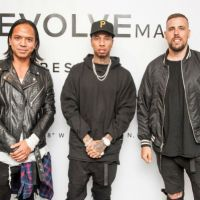 Los Angeles: Stars Celebrate The Launch Of daniel patrick x T - Raww For REVOLVEman Collaboration