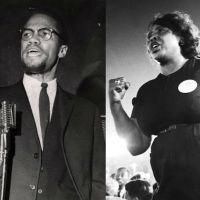 Fannie Lou Hamer And Malcolm X Speak In Harlem, NY, 1964 (Video)