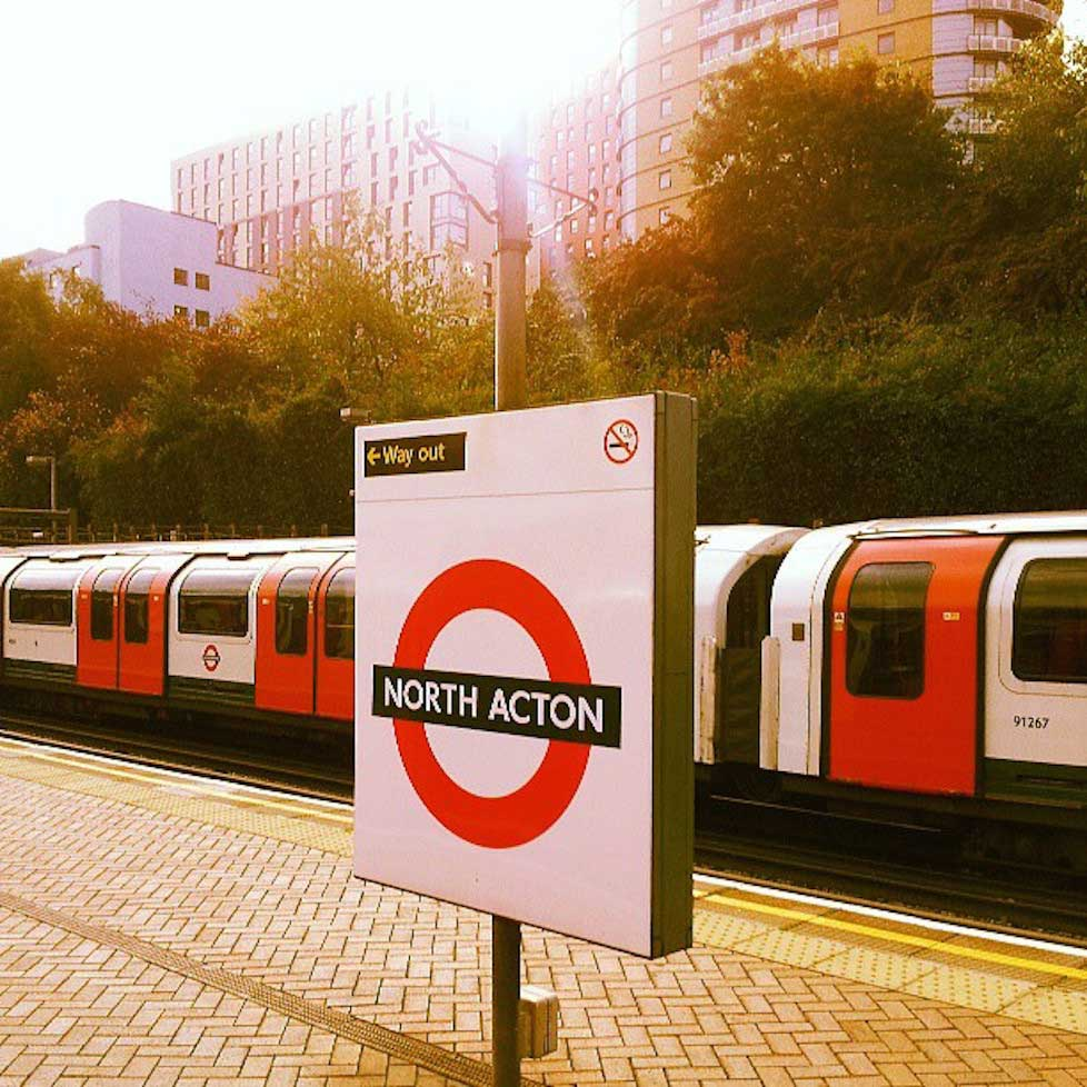 North Acton in top stations to find single women.