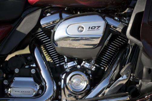 Motocykel Harley-Davidson touring Ultra Limited