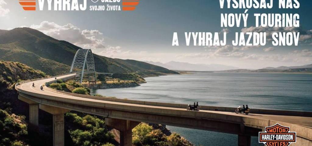 Vyhraj motocykel a cestu snov s Harley-Davidson Bratislava
