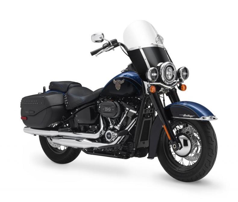 Motocykel Harley-Davidson Softail Heritage 115 výročie
