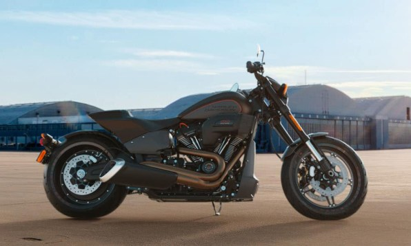 Motocykel Harley-Davidson Softail FXDR 114 farba Rawhide Denim