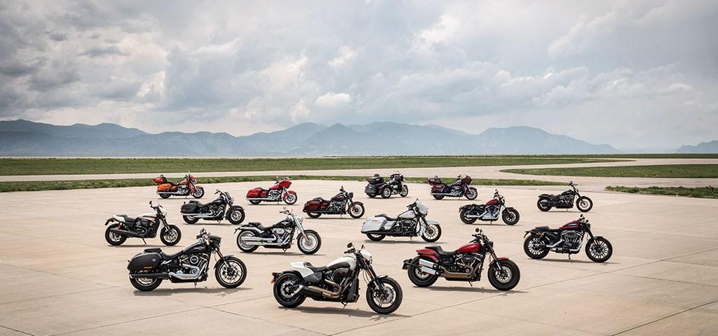 Nové mtocykle Harley-Davidson modely pre rok 2019