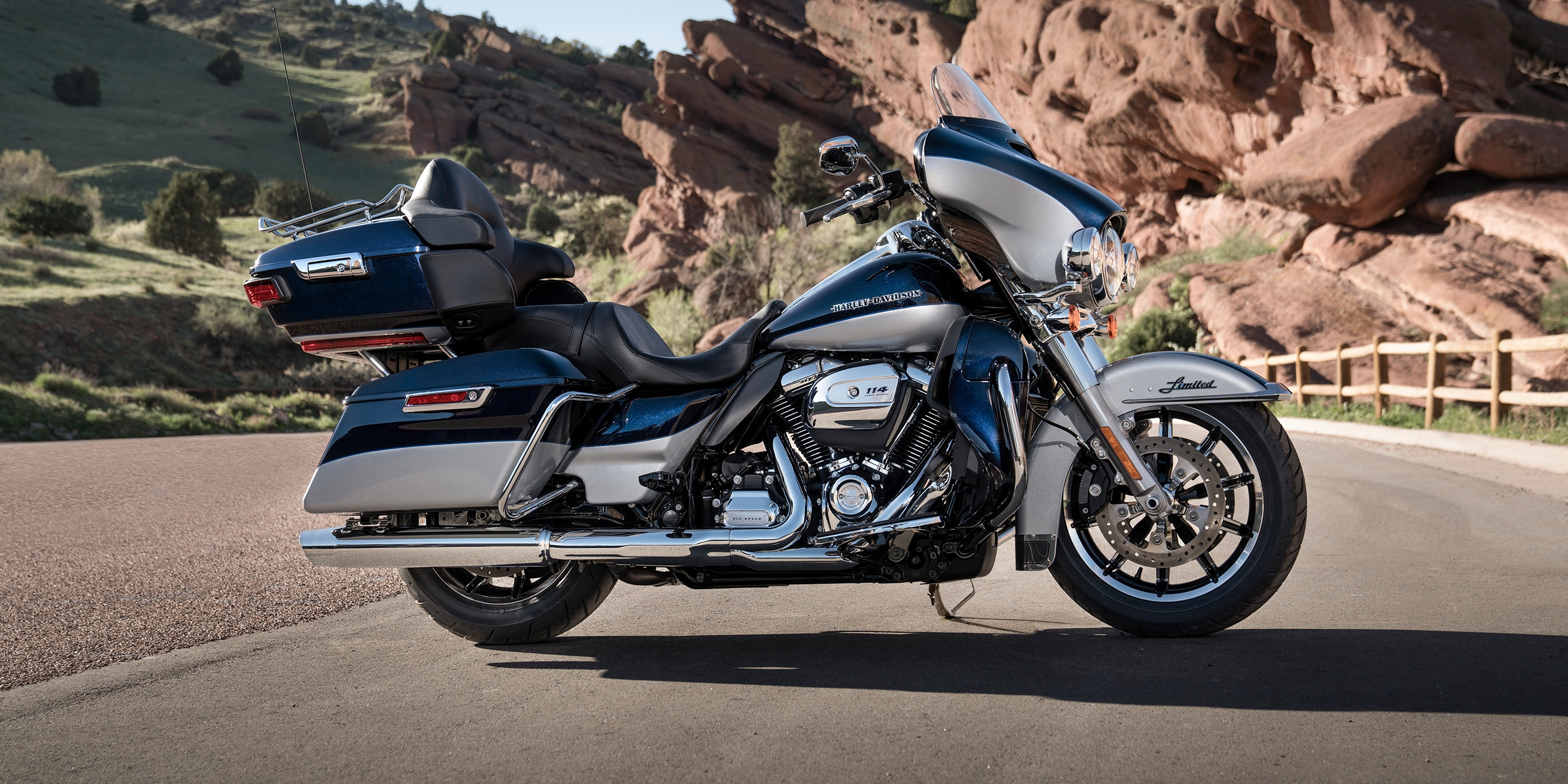 Harley Davidson Touring With Ultra Limited Low