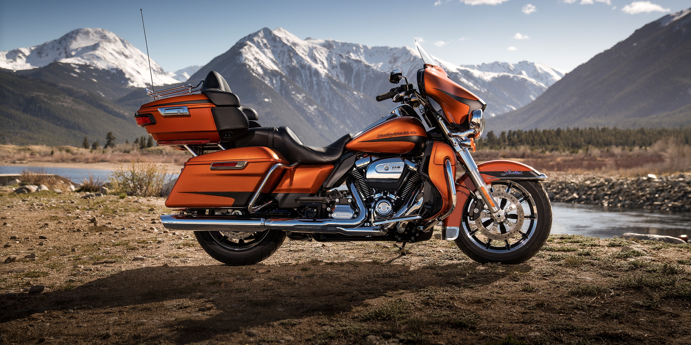 Harley Davidson Touring With Ultra Limited