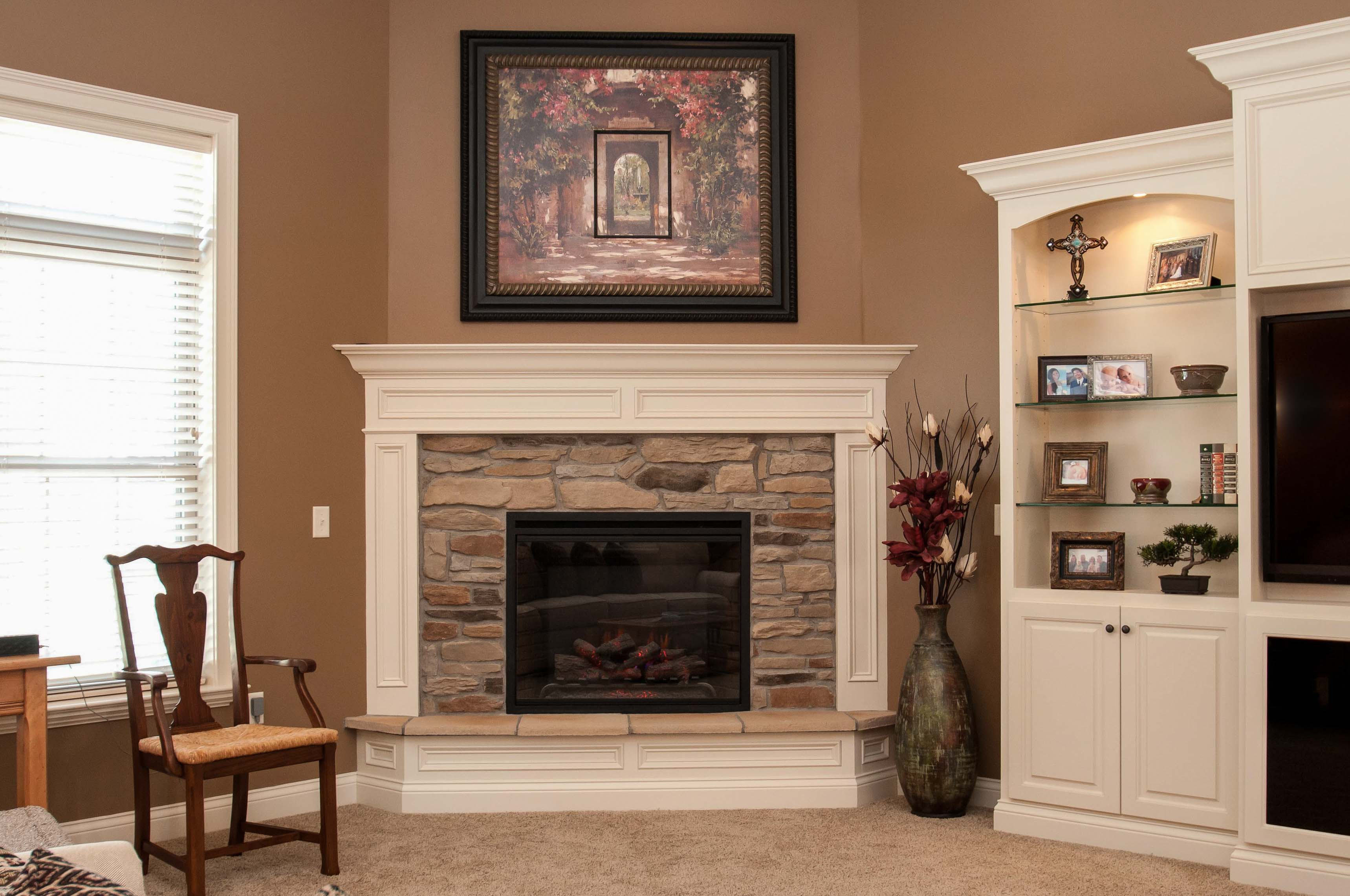 Brick Fireplace Makeover Fireplaces | Harlow Builders, Inc