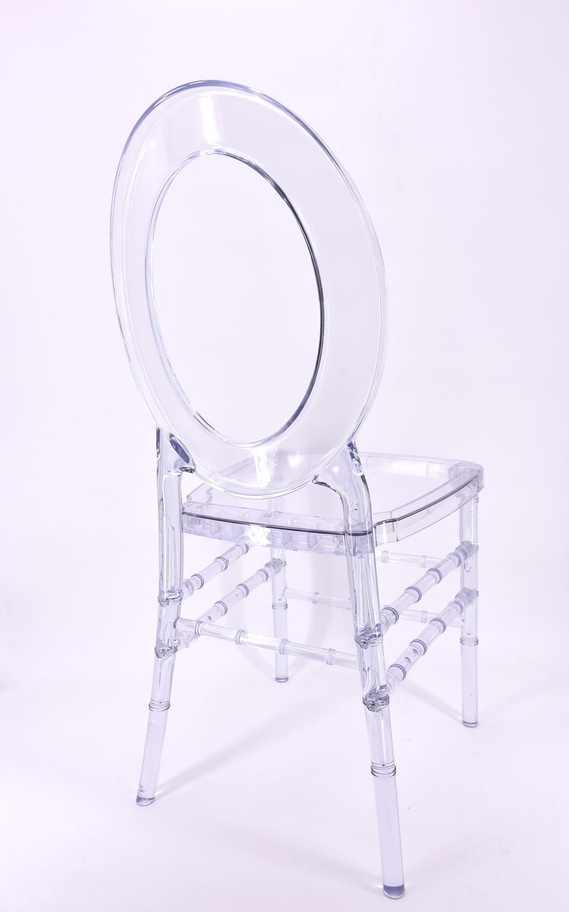 Transparent Bianca Chair Harmonie Florale