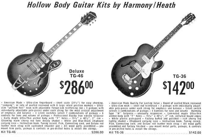 Heathkit guitars and amps - Harmony Database