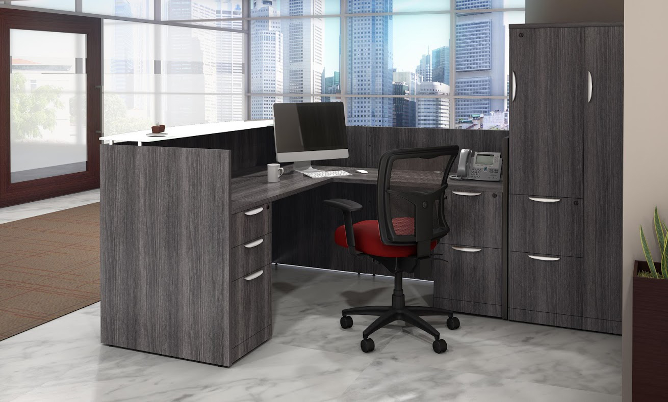 Office Mesh Seating Newport Grey - Harmony Collection