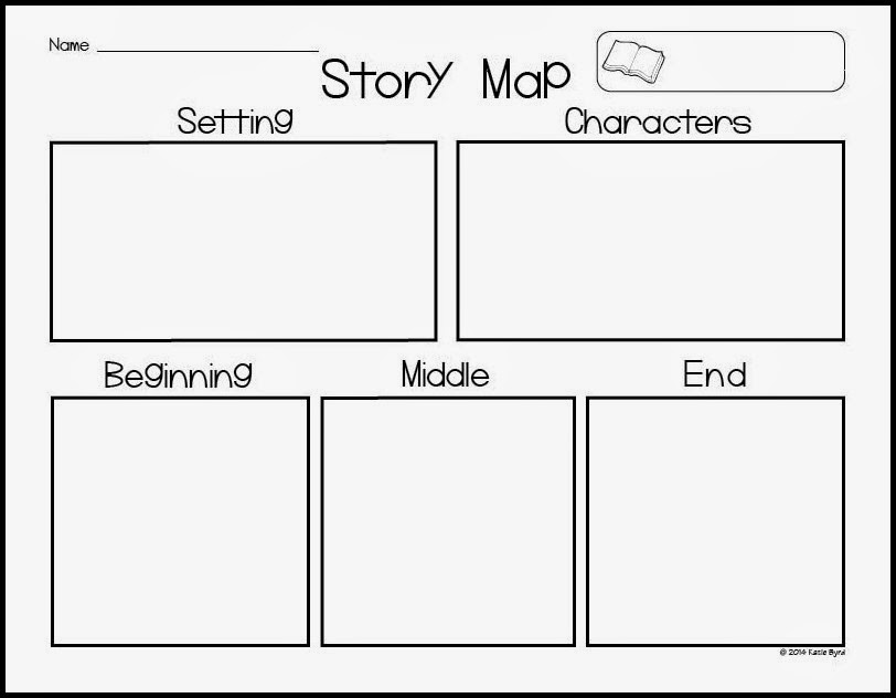 FREE Story Map Printable writing Story