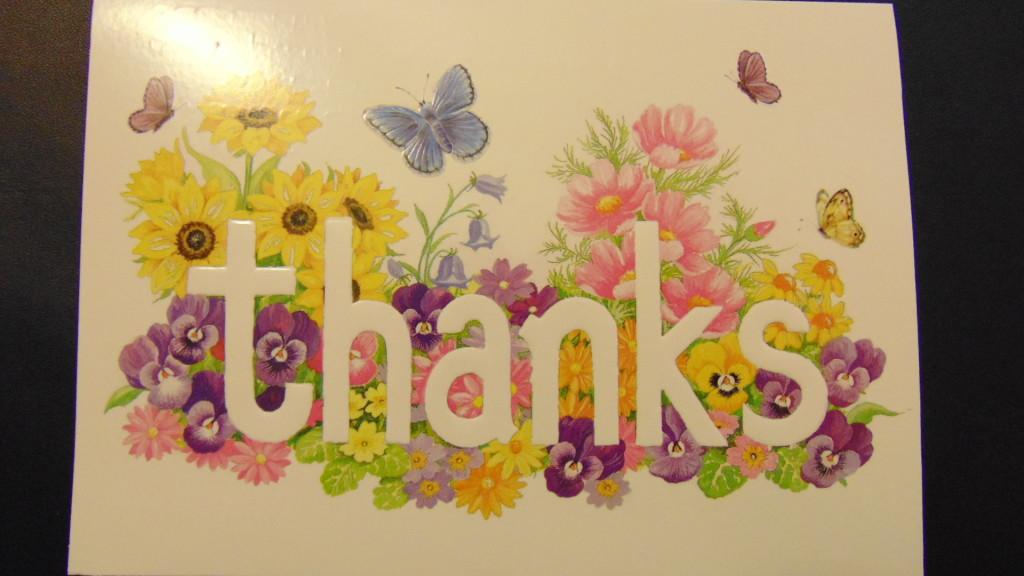 Another Word of Thanks - Harrodsburg Health  Rehabilitation Center