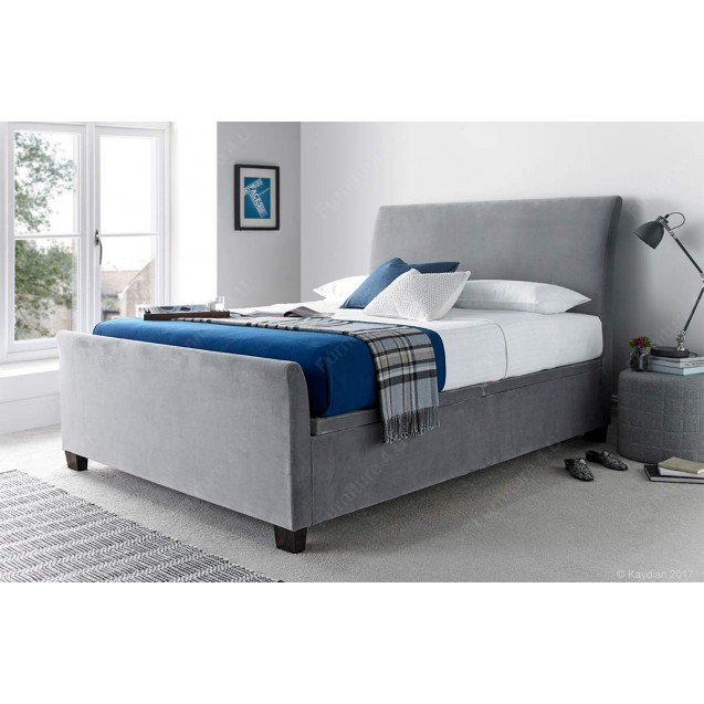 Allendale Ottoman Fabric Super King Size Bed
