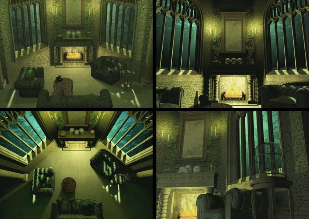 Lord Wallpaper Hd Download Slytherin Common Room First Day Audio Atmosphere