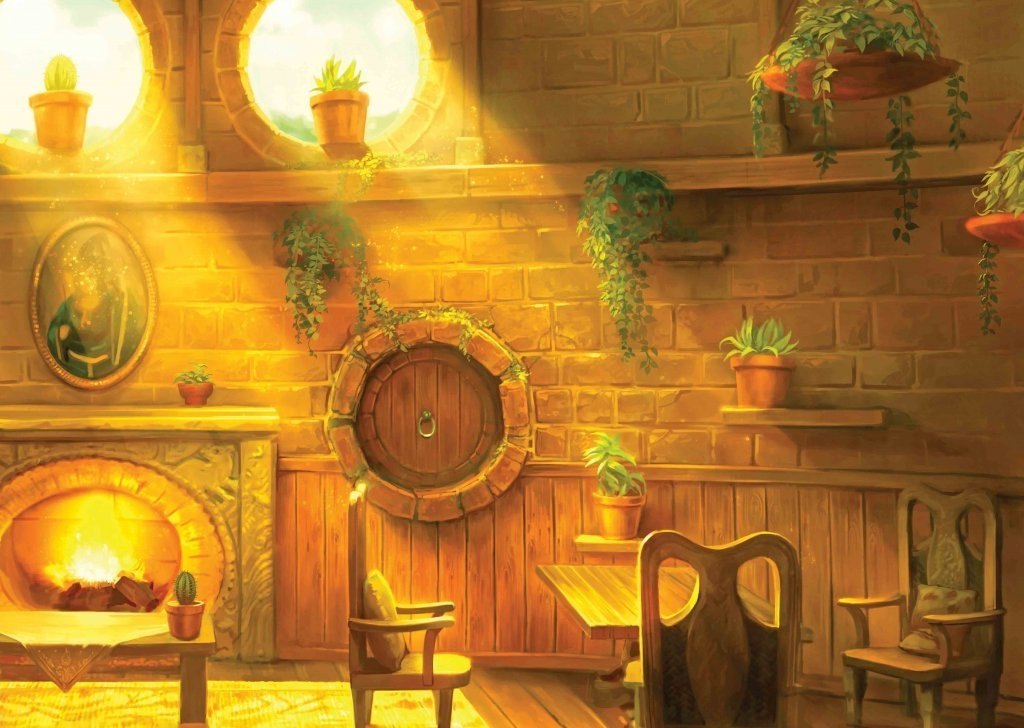 Cozy Fall Wallpaper Hufflepuff Common Room Background Ambience For Book