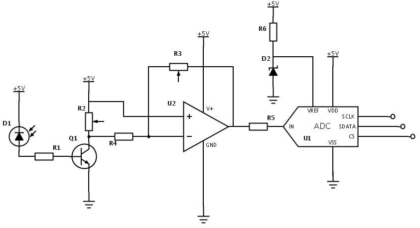 the raspberry pi adc circuit